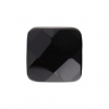 Black Onyx 18mm Square 9Pcs Approx